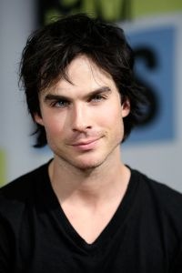 SAN DIEGO - JULY 24:  Actor Ian Somerhalder in the MySpace And MTV Tower During Comic-Con 2010 - Day 3 San Diego on July 24, 2010 in San Diego, California.  (Photo by Jerod Harris/Getty Images for MySpace)